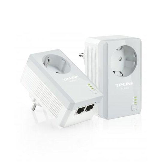 TP-Link - TL-PA4020PKIT - Powerline adapter - Wit
